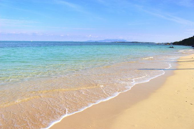 ビーチが目の前!夏はビーチアクティビティもあり