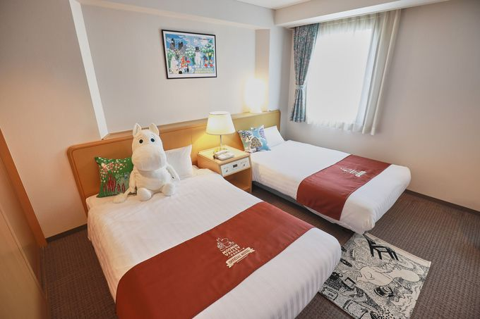 ムーミンバレーパーク公認オフィシャルホテル!「マロウドイン飯能」