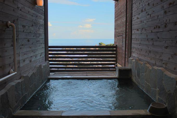 帰りは隣の「潮騒リゾート鴨川」の日帰り温泉へ