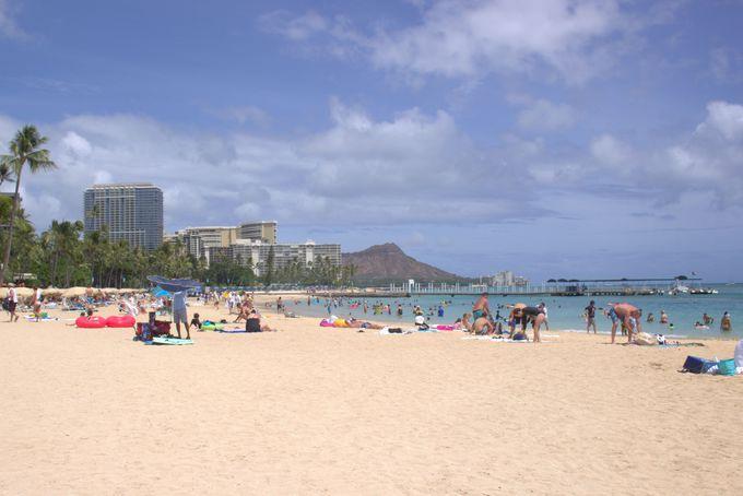 超美しいビーチを満喫!