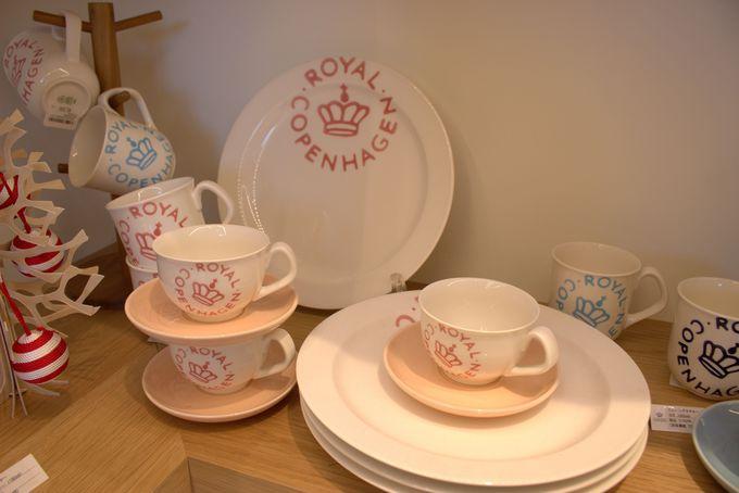 ロイヤル コペンハーゲンの食器や紅茶が買える!