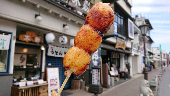 ぐるり成田山を散策した後は、表参道でお食事やお土産探し!