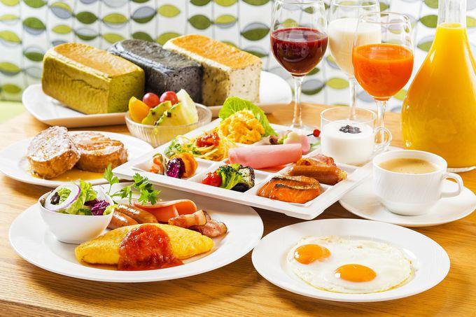 ワンコイン朝食も!レストランやラウンジが充実!