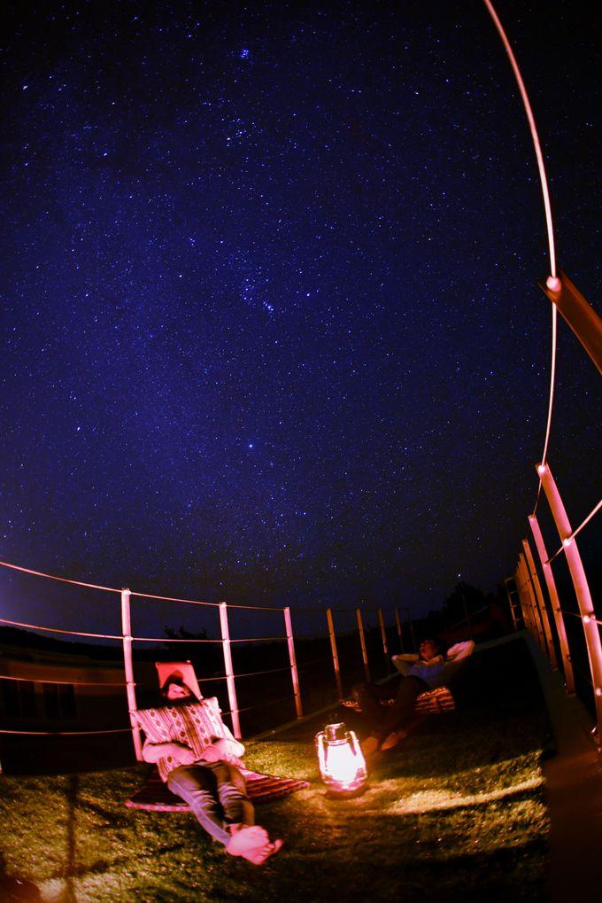 RuGuの夜は夕日からはじまり、夜空の星ととも過ごして・・・