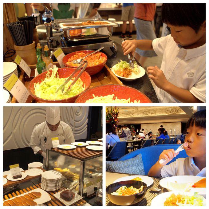 子どもが喜ぶ朝食ブッフェが嬉しい!那覇最大級のプールも
