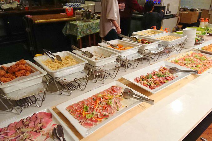 お食事のレベルが高い!夕食&朝食はビュッフェを満喫!