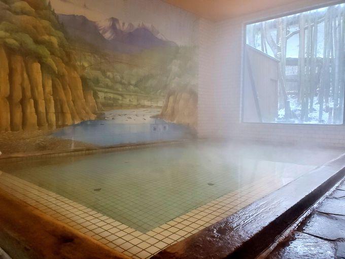 24時間入り放題の天然温泉!