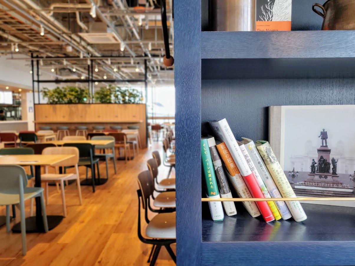 お食事は、誰でも入れる社員食堂「角川食堂」へ
