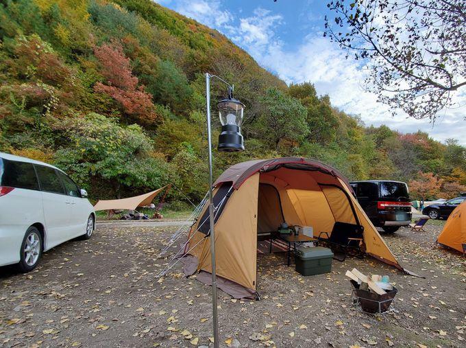 選べる多彩なキャンプサイト!