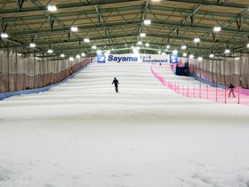 埼玉・全天候型「狭山スキー場」がリニューアルオープン!