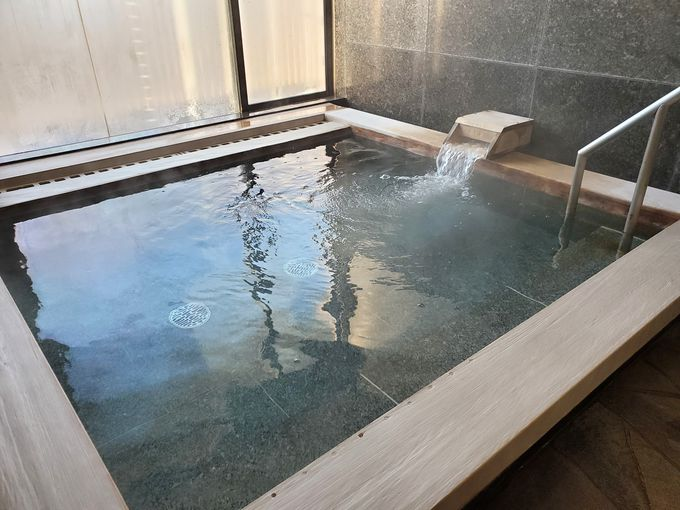 隣接する「真岡井頭温泉」も利用無料!