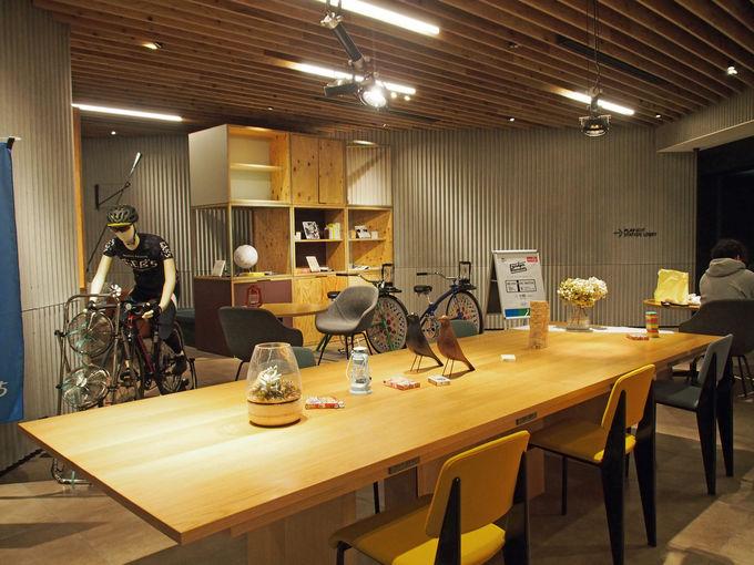 チャリを楽しむ新感覚の星野リゾートのホテル「BEB5土浦」