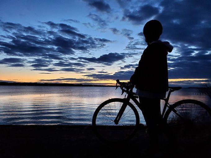 初心者でも気軽に参加OK「朝焼け絶景サイクリング」