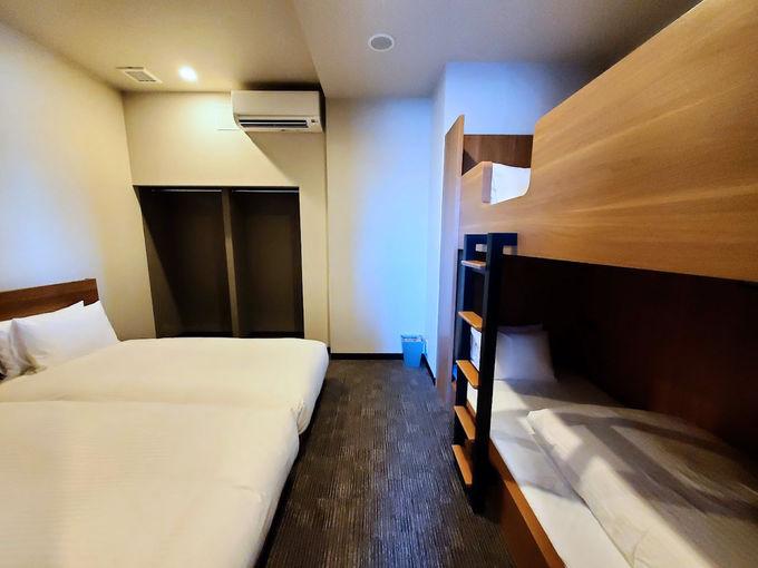 三世代旅行も可!2ベッドスイートルームが広くて快適