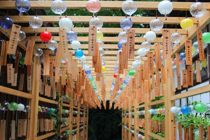 川越氷川神社と約2000個の「縁むすび風鈴」
