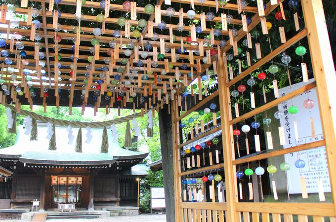 川越氷川神社と2000個以上の「縁むすび風鈴」