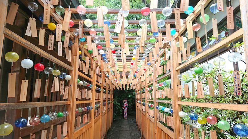 川越氷川神社「縁むすび風鈴」2019も開催!狙い目の時間は?