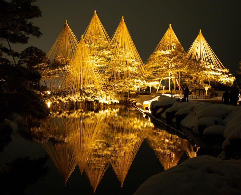 真冬に煌めくライトアップはおススメ!