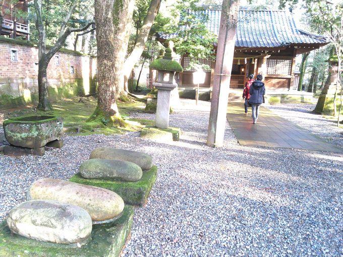 敷地内の「金谷神社」
