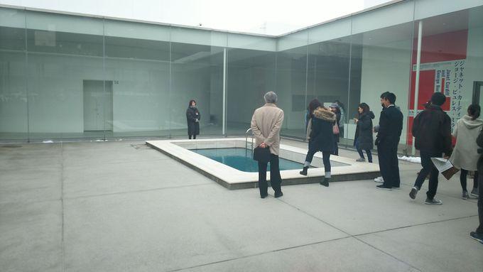 「金沢21世紀美術館」へ!(滞在時間約30分)