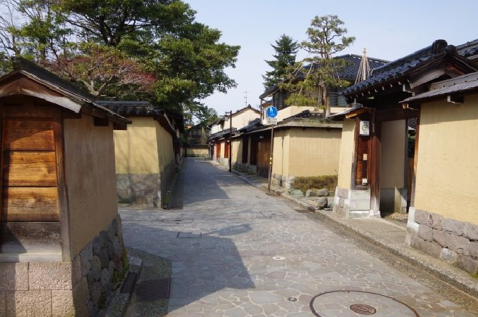 1日目午後:長町武家屋敷跡、金沢21世紀美術館、兼六園へ