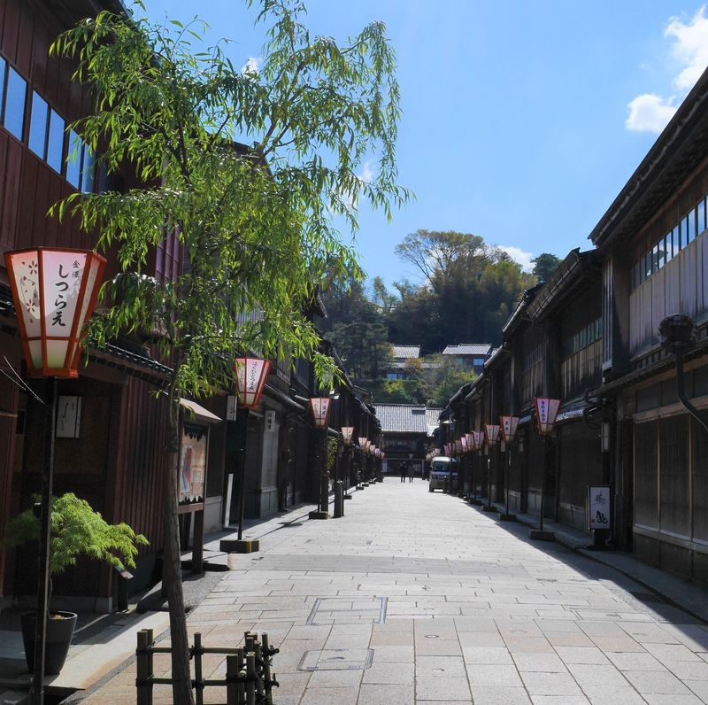 金箔や和菓子体験も!金沢1泊2日女子旅観光モデルコース