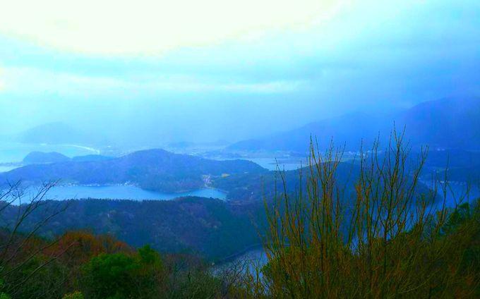 神秘的な三方五湖