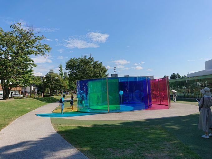 子ども連れで楽しめる「金沢21世紀美術館」
