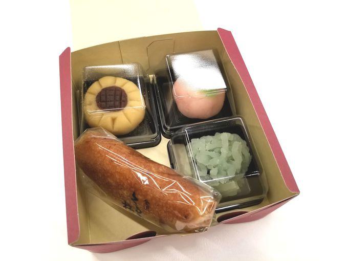石川県観光物産館の和菓子体験