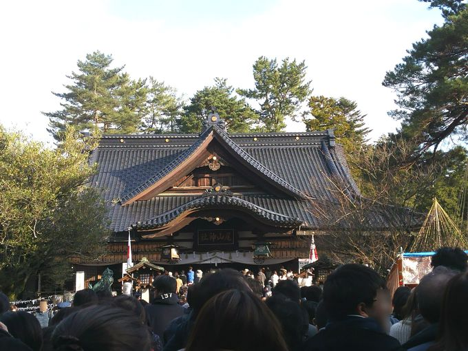 加賀藩前田利家公が祀られている「尾山神社」