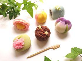 金沢老舗和菓子店「森八」季節が感じられる絶品和菓子を堪能