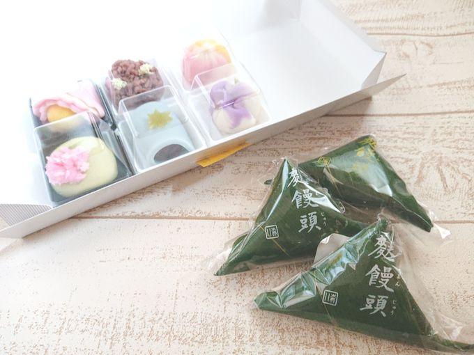 季節限定、金沢ならではの和菓子も