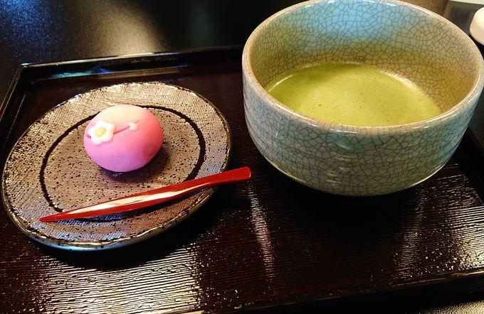 森八茶寮でいただく季節の和菓子