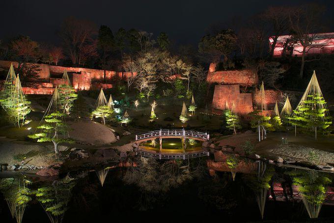 幻想的な夜を彩る「金沢城・兼六園ライトアップ 秋の段」