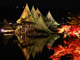 鼠多門も!幻想的な「金沢城・兼六園ライトアップ 秋の段」で紅葉を満喫