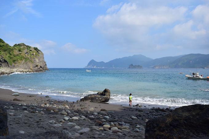 渡し船で「谷川浜」にも行ける!