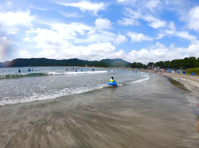 南伊豆「弓ヶ浜海水浴場」は白浜が美しい人気ビーチ!隣には逢ヶ浜も