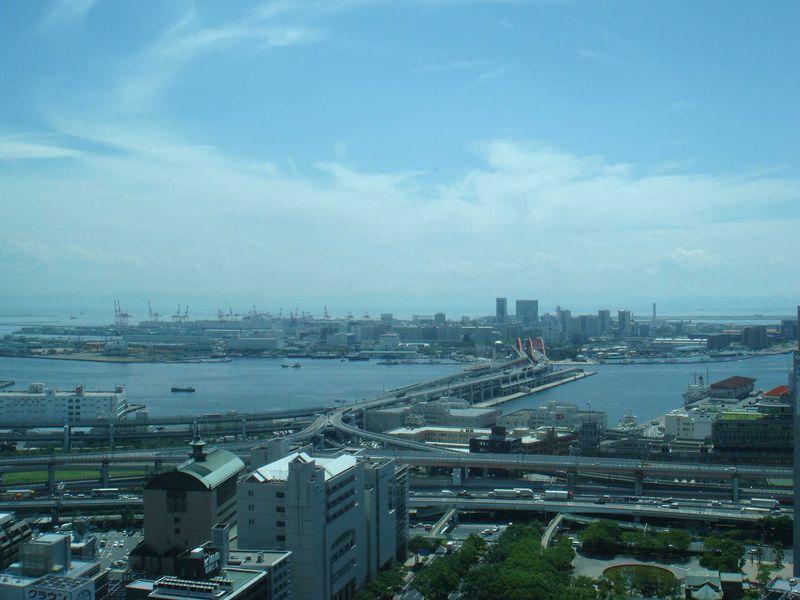 三宮の展望・夜景を無料で楽しめる!神戸市役所展望ロビー