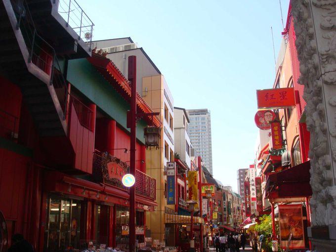 神戸のチャイナタウン、南京町
