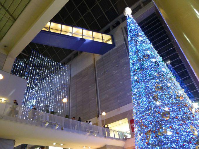 神戸ハーバーランドumieセンターストリートのイルミネーション