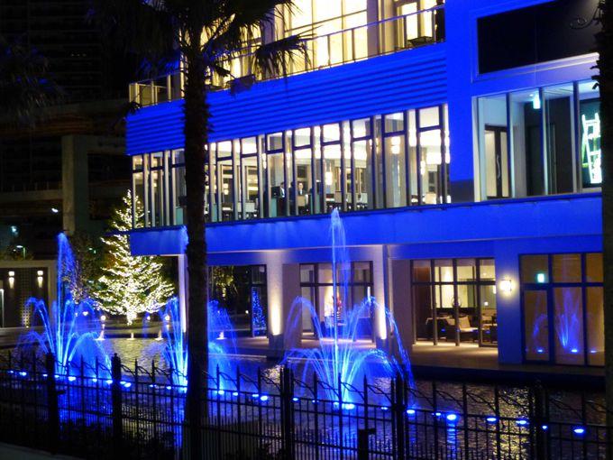 ノートルダム神戸の噴水ショーは必見