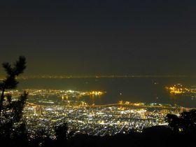 星を掬えるほどの光の海。摩耶山「掬星台」〜神戸の夜景vol.1