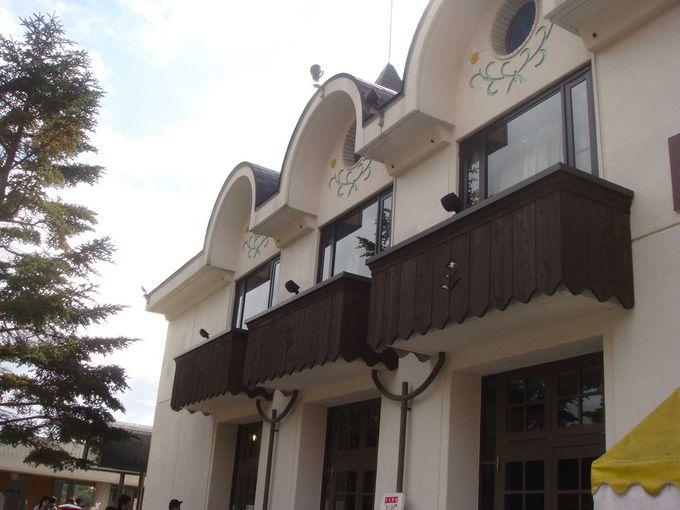 「六甲山Q・B・Bチーズ館」「まきば夢工房」を併設。体験イベントが人気