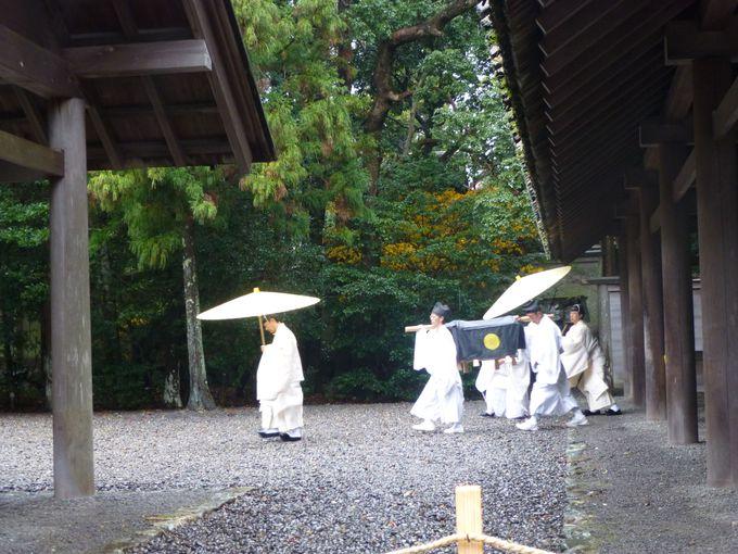 ヒント3:伊勢神宮ならではの行事に合わせてお詣りをしよう。