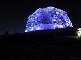 夜景とアートのコラボレーション!六甲ガーデンテラス〜神戸の夜景vol.4