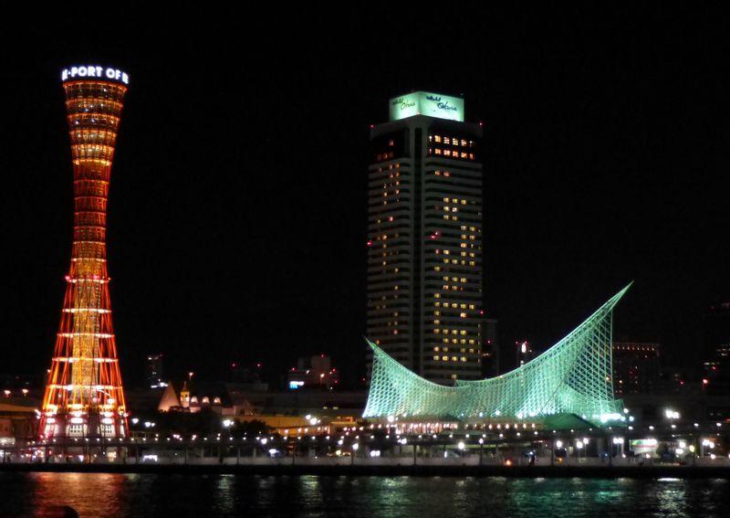 一人旅でも、車がなくても。徒歩40分で巡る、神戸街ナカ夜景5選。