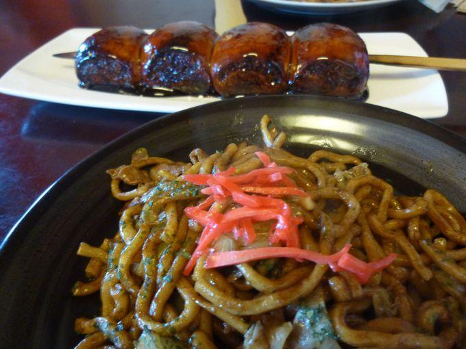 「太田焼きそば」や「焼きまんじゅう」の食べ歩きドライブもオススメ。