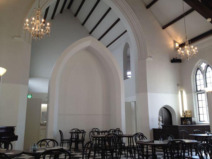 老舗のクオリティ、そして雰囲気抜群。教会カフェの「フロインドリーブ」