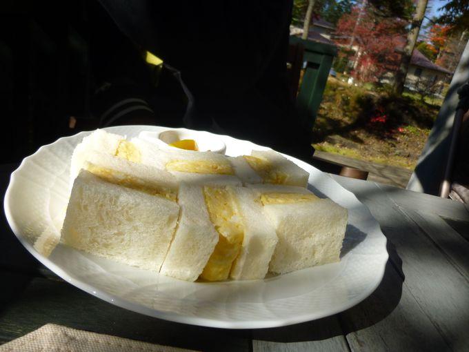 フレンチトーストだけじゃない?!浅間小町の卵サンドは素材の良さが感じられる一級品。
