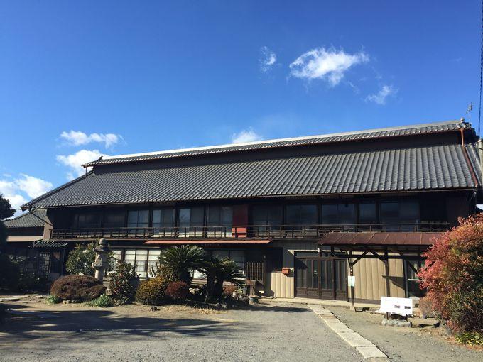 良質な蚕の育成方法を完成させた地「田島弥平旧宅」